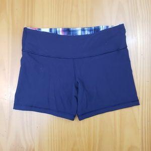 Lululemon | Navy Blue Fold Over Womens Running Sho